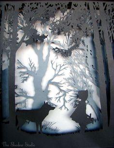 Kağıt Kesme Sanatı Örnekleri 15 - Mimuu.com