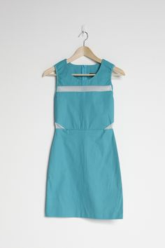 Cute dress with mesh detailing
