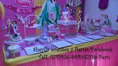 Presentacion de mesa, Princesas