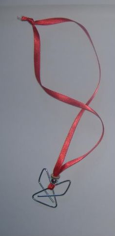 Easy Children's Christmas Craft: Paperclip Angels   Frugal Upstate