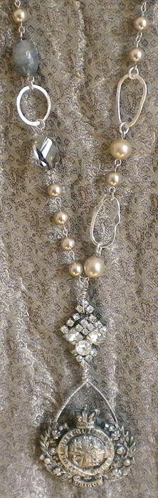 Diana Frey Closeup of Necklace