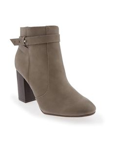 Ankle Boot with Strap - grey size 6