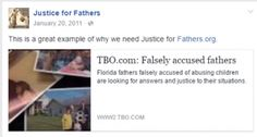 This is a great example why we still need Justice For Fathers.