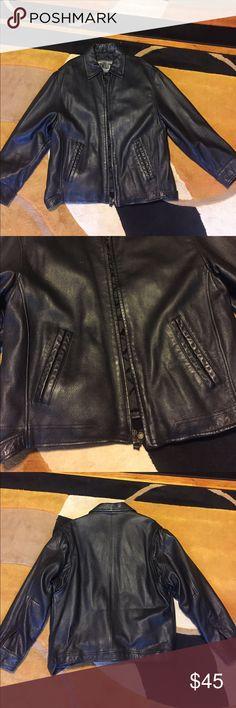 Male leather jacket Has been worn prior. Winlit Jackets & Coats Bomber & Varsity