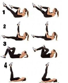 Lower ab workout