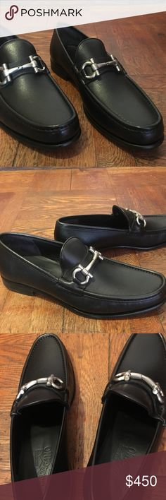 Salvatore Ferragamo Men's Black Leather Shoes Salvatore Ferragamo Classic Black Men's Leather Shoes. Originally priced at $640.00. Salvatore Ferragamo Shoes Loafers & Slip-Ons