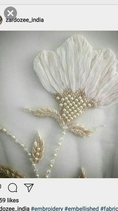 Design dresses couture embroidery ideas for 2019 - Stickerei Ideen