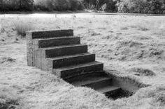 Sculpture/Installation - Grounding by Sigmund Skard Satoshi Pokemon, Mono Ha, Stair Ladder, Temple Of Light, Things Organized Neatly, And So It Begins, Process Art, Public Art, Installation Art