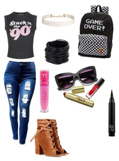 """""""Untitled #116"""" by thesilverloutos on Polyvore featuring Wildfox, Gianvito Rossi, Vans, Humble Chic, Saachi and Jeffree Star"""