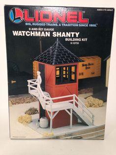Vintage Lionel Train Watchmen Shanty Model with Insructions | eBay