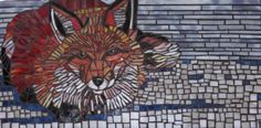 Winter Fox by Laughing Dog Mosaics