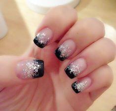 Glitter Nail Design 21