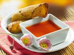SWEET AND SOUR EGG ROLL SAUCE