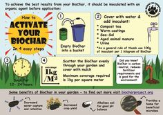 "WHAT IS BIOCHAR?   ""Biochar may represent the single most important initiative for humanity's environmental future. The biochar approach pr..."