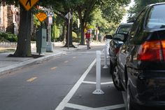 The Evolution of the Bike Lane - Neighborhoods - The Atlantic Cities - 15th and P Streets, NW, Washington, D.C. Image by Elvert Barnes