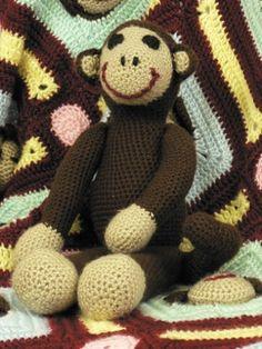 Monkey Toy | Yarn | Free Knitting Patterns | Crochet Patterns | Yarnspirations