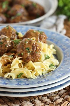 Better than IKEA!  An EASY Swedish Meatballs recipe you can make at home in just about 30 minutes! | @suburbansoapbox