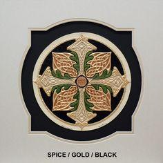 Celtic Cross of Creation 16x16