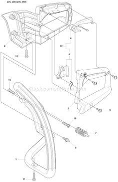 husqvarna 235 chainsaw parts diagram pajero alternator wiring 18 best chain saw repair images engine 2008 01 schematics page j