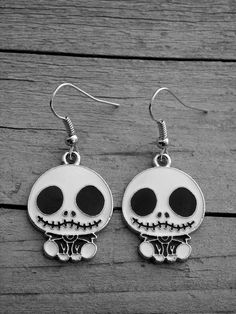 Nightmare Before Christmas Jack Skellington Earrings by Ink & Roses 13