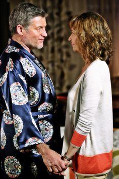 Warwick & Maggie Cardi - Ted Baker Tank - Saba Pants - Zara