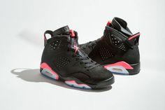 """Air Jordan VI """"Black Infrared"""" Returns Black Friday Air Jordan Sneakers 1694fb7af97"""