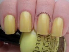 Tip Top - Walking on Sunshine (nail chic)