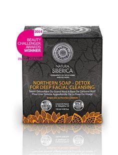 Sapone nero detossinante per la pulizia profonda del viso. Assorbe facilmente le impurità dai pori.  Mira a detossinare e a rigenerarela pelle.