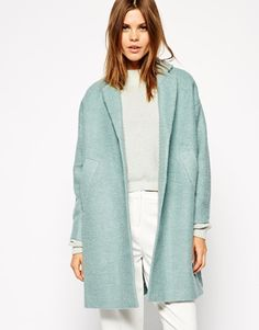 ASOS Coat in Swing Trapeze