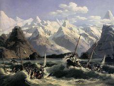 Expédition la Pérouse - Le naufrage des chaloupes en Alaska