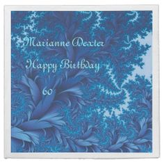 Avoid any messy dinners with Birthday napkins from Zazzle. Browse through our marketplace of paper and cloth napkins ranging in different styles and sizes. Cloth Napkins, Paper Napkins, Blue Birthday, Fractals, Tapestry, Abstract, Hanging Tapestry, Tapestries, Paper Towels