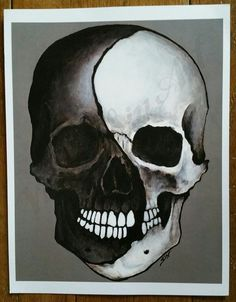 Image result for yin yang skull