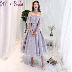 6d5d64fb5d6 Купить товар Халат De Soiree линия серый шампанское Чай Длина вечернее  платье вечерние элегантные Праздничное платье