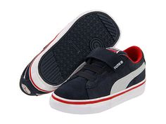 Puma Kids PUMA S Vulc V (Infant/Toddler/Youth)