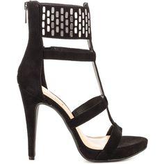 Jessica Simpson Women's Celsus - Black Lux Suede ($90) ❤ liked on Polyvore featuring shoes, pumps, black, black platform shoes, suede platform pumps, high heel pumps, suede pumps and black stilettos