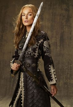 Keira Knightley as Elizabeth Swann - The Pirates of the Caribbean