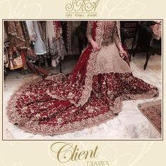 Client trials going on in full swing at the studio ✨✨✨ Call in to book you appointments now 0332-4340203 #srabrides #traditionalbride #clientdiaries #dress #sararohaleasghar #stunning #regal #bloomingroseofevesgarden