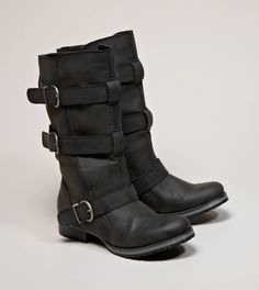 AEO Buckled Moto Boot | American Eagle Outfitters