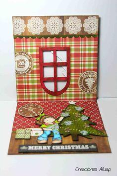 """Inspiración: """"Especial Navidad"""" Magnolia Merry Christmas Card   Scrapbookpasion"""
