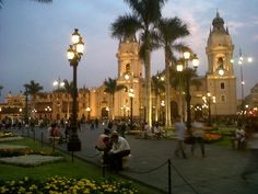 Plaza Mayor de Lima in Cercado de Lima, Lima
