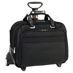 I'm learning all about Mcklein McKlein USA R Series Midway Nylon Wheeled Laptop Case at @Influenster!