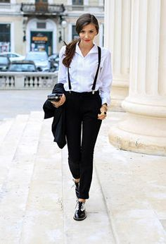 Tomboy  SOPHIE | #All Shoes # Flat Shoes # STREET FASHION#BLACK AND WHITE #jessicabuurman @jessicabuurman @themysteriousgirl