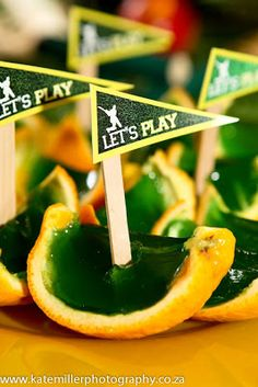 These Jelly Boats are nifty snacks perfect for a sports party and can be dressed up for a party too! 7th Birthday Party Ideas, Birthday Cup, Birthday Party Decorations, Birthday Parties, Cricket Cake, Sports Themed Cakes, Cricket Crafts, Sports Party, Childrens Party