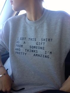 was looking at one of my favorite blogs and saw a good hYOUman sweatshirt :)