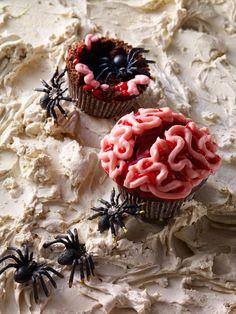 Halloween-Muffins   Zeit: 50 Min.   http://eatsmarter.de/rezepte/halloween-muffins-1