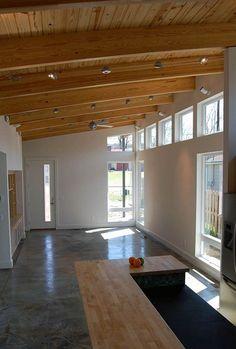 passive solar ranch home design - Google Search
