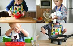 What Toddlers Can Do In The Kitchen (15 months to 3 years).