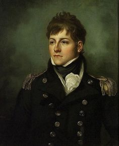 Captain George Miller Bligh by Mather Brown (N. He is not the Captain Bligh of the H. Bounty mutiny) Captain George Miller Bligh was an officer of the Royal Navy, who saw. Portsmouth, Thomas Gainsborough, John Singer Sargent, Regency Era, Regency Hotel, Maritime Museum, Men In Uniform, Napoleonic Wars, Art History