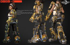 ArtStation - Evolve - DLC Sunny Texturing and Integration , Mario Colindres