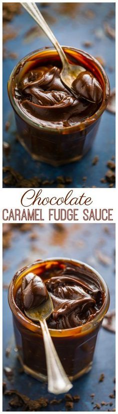 The only thing better than hot fudge sauce? Chocolate Caramel Fudge Sauce! You�re going to want to put this on EVERYTHING!